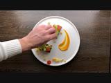 Красты с муссом из авокадо