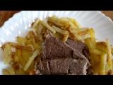 Русская кухня: Жареный картофель по-Филатовски, рецепт 1893 года