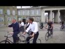 Премьер-министр Дании показывает президенту Франции Макрону Копенгаген
