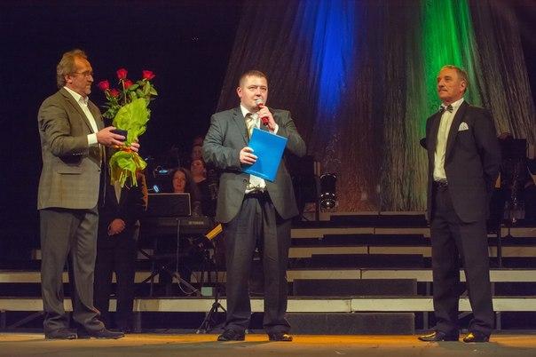У Рівненському облмуздрамтеатрі відбувся бенефіс Георгія Морозюка. 2014