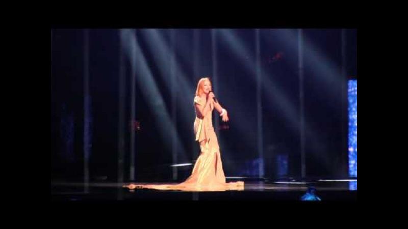 ESCKAZ in Stockholm: Eneda Tarifa (Albania) - Fairytale (Semifinal dress rehearsal)