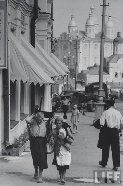 Советские фотографии, 1950-1960 гг. Фотограф: Джерри Кук.