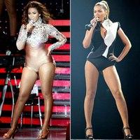 Знаменитости макияж до и после