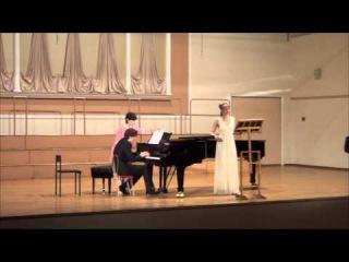 Tamara Zavalnaya, Boris Davidyuk - Richard Strauss, Ophelia-Lieder, op. 67