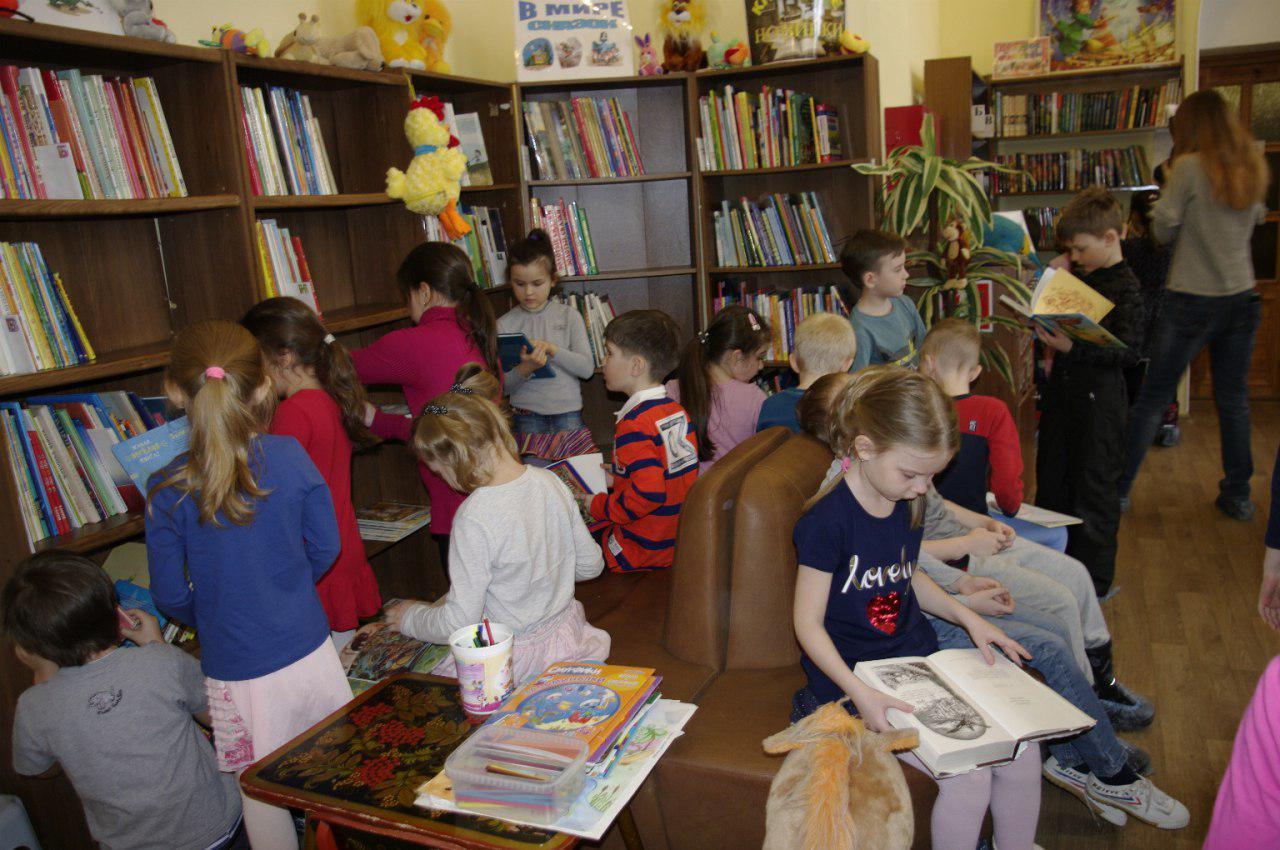 День открытых дверей прошел в детской библиотеке Ховрина