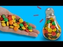 7 SWEET CANDY HACKS COOL CRAFTS FOR KIDS - LIVELY IDEAS FOR KIDS PARTY 5MINUTECRAFTSKIDS