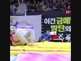 seokjin is the cutest bun ever!
