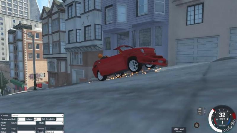 BeamNG Drive | Гонки с подписчиками по Сан-Франциско:D Кто-то выжил?!