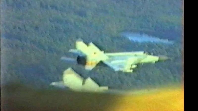 Полеты Миг-25 ПД