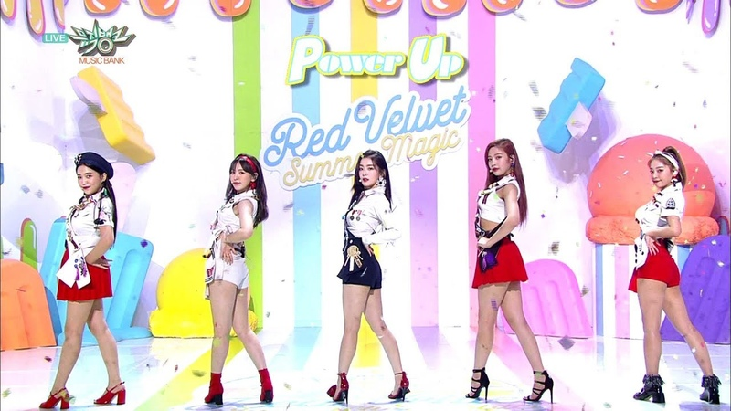 Red Velvet 레드벨벳 Comeback Stage Power Up KBS MUSIC BANK 2018.08.10