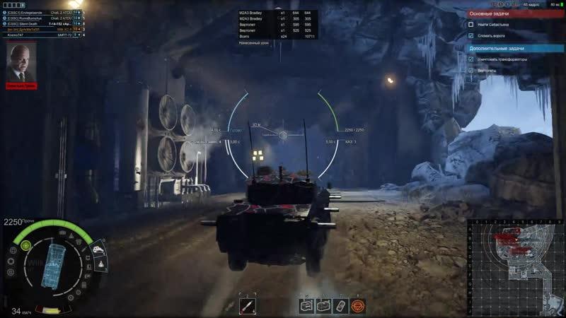 Armored Warfare_Грамотная игра на ИТ на уровне сложности Безумец