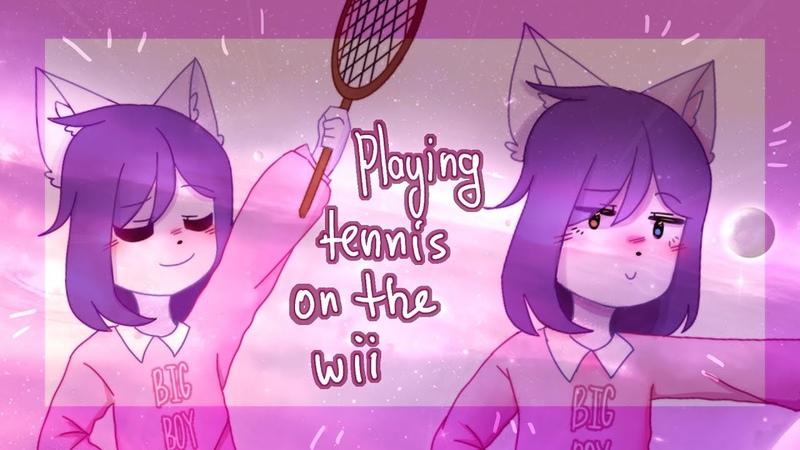 Wii Tennis ANIMATION MEME / HAPPY BIRTHDAY MUZY FRILE