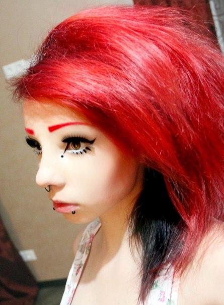 Как красить фукорцином волосы