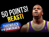 Shaquille O'Neal Full Highlights 1998.04.02 at Nets - NASTY 50 Pts, BEAST!