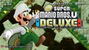 New Super Mario Bros U Deluxe - Crushing Cogs Tower - Acorn Plains