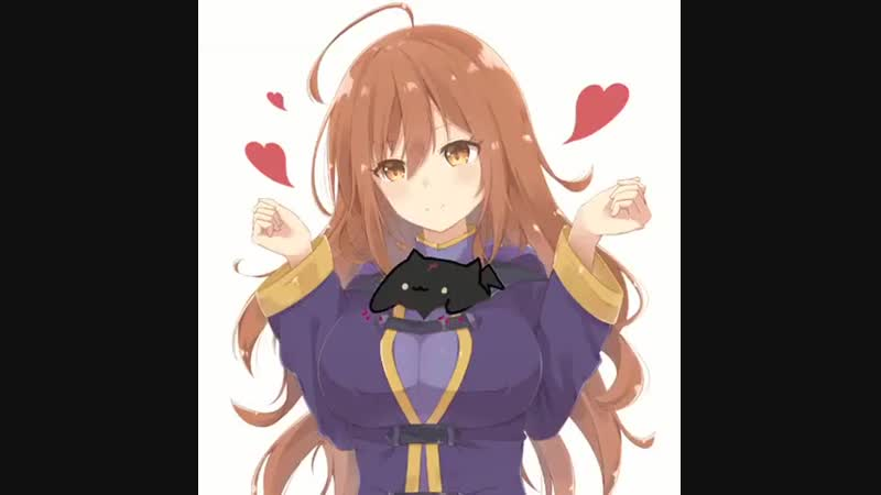 Anime.webm Konosuba, Bongo Cat