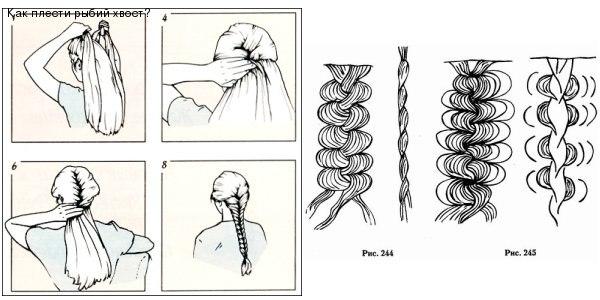схема плетения колоска (прост.
