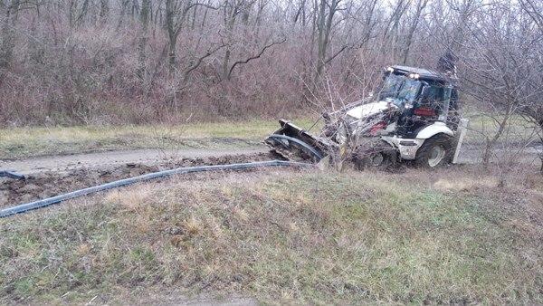 В Ростовской области на границе с Украиной обнаружен еще один нелегальный трубопровод