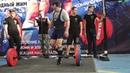 тяга 170 кг, чемпионат России WPA