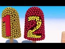 Learn Numbers with Soccer Balls Ice Cream for Kids and Children