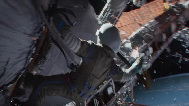 Эпизод из фильма Гравитация часть 7 (Гибель МКС) FUUL HD 1080p