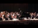 Андрей Коробейников и РГСО. К.Сен-Санс. Фрагмент 1-й части Концерт №2 для фортепиано с оркестром