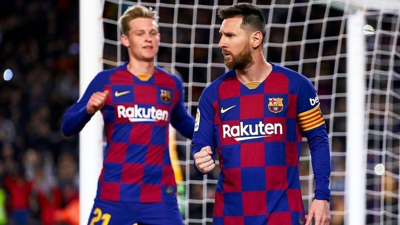 ⚡️ Полузащитник «Барселоны» Френки де Йонг высказался о ситуации в клубе и о будущем Лионеля Месси.