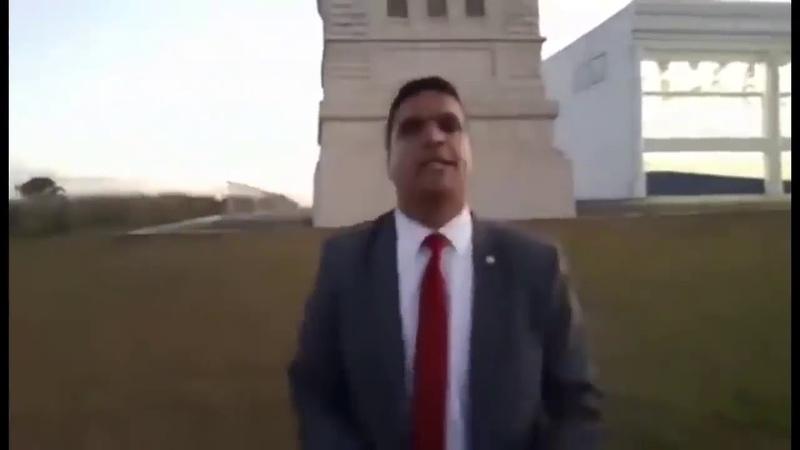 Cabo Daciolo diz que vai retirar estatuas da liberdade de frente da HAVAN