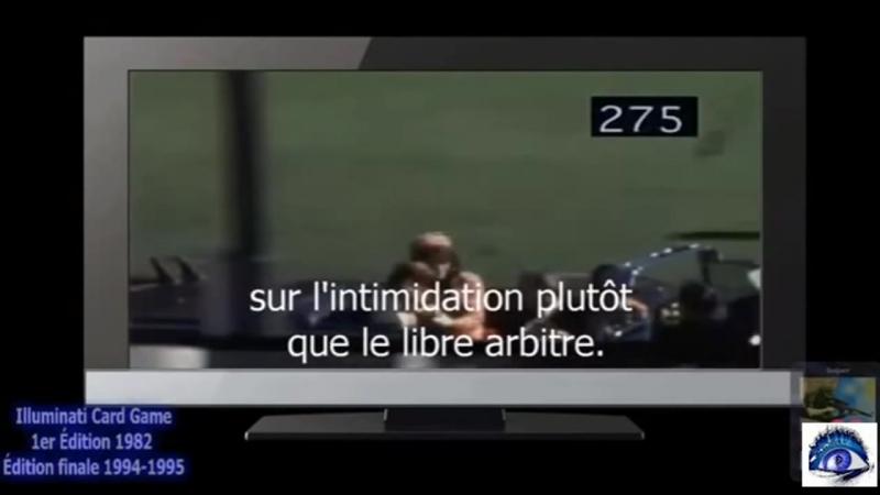 Chaîne YT - AKH TV - 115.J.F.K. dénonce les sectes secrète en direct pendant son discours