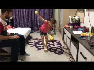 вероника кеменова. упражнения на баланс