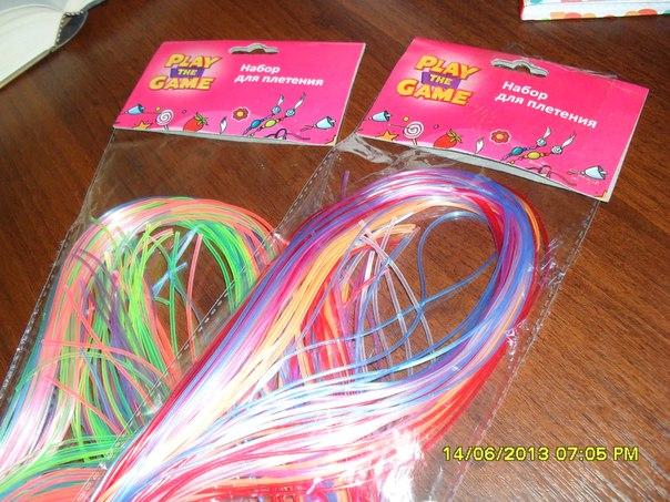 Проволоки для плетения браслетов
