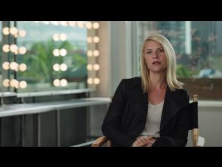 Родина   Homeland   6 сезон   За кадром Куинн и Кэрри [HD]