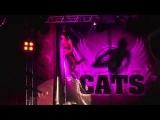 Kira Noire (Marina Bogomolova)-показательное выступление на отчетном концерте студии CATS