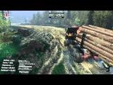 КАМАЗ 8Х8 SPIN Tires 2014 прохождение част 108