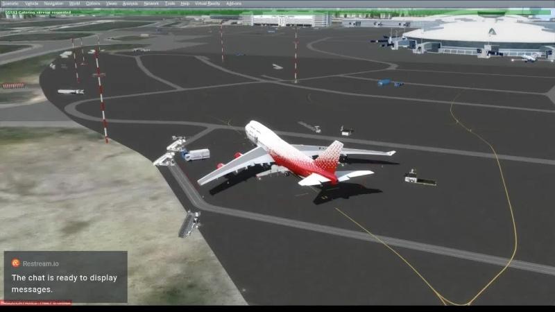 [LIFE] Event Vatsim Вместо тысячи Сапсанов Москва - Питер - Москва! Boeing 747