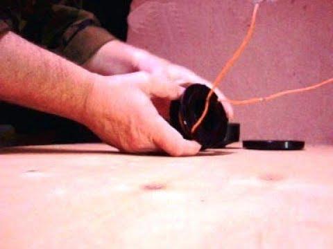 Как намотать леску на косильную головку триммера мотокосы