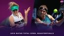 Elina Svitolina vs. Karolina Muchova   2019 Qatar Total Open Quarterfinals   WTA Highlights