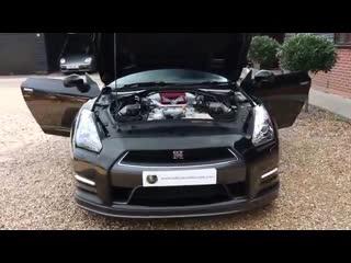 Nissan gtr 3.8 v6 twin turbo litchfield stage 1 automatic in kuro black