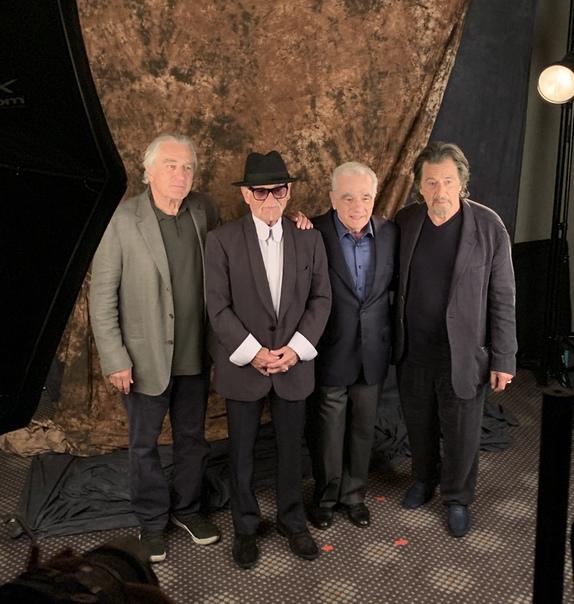 Легендарная банда из Роберта Де Ниро, Джо Пеши, Мартина Скорсезе и Аль Пачино на кинофестивале в Нью-Йорке