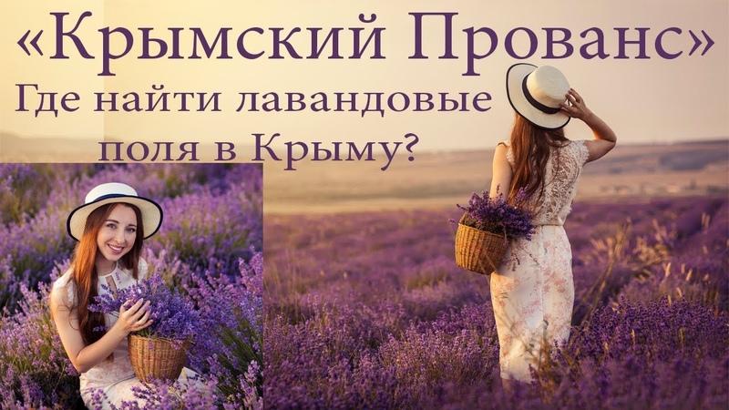 Где находится Крымский Прованс Фотосессия в лавандовых полях. Крым. Июнь 2018