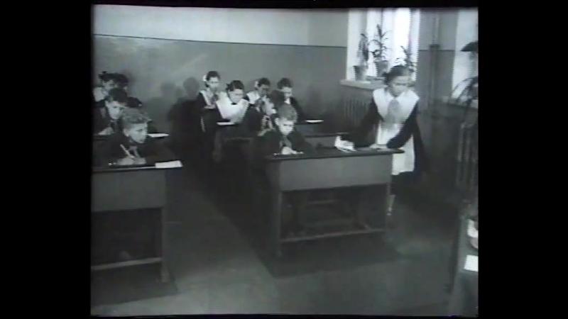 Киножурнал Советская Карелия 1959 г. №6. Фрагмент про Сортавальскую школу-интернат