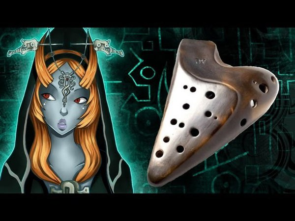 Midna's Desperate Hour on Ocarina (Midna's Lament Cover)