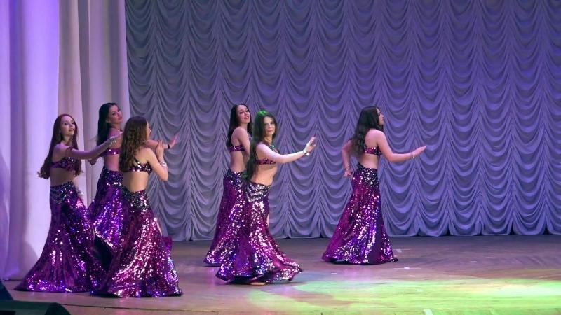 Младший состав Школы Танца ФАЙЗА, group Belly Dance, modern oriental style.