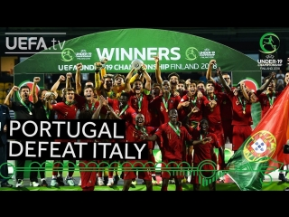 #U19 EURO highlights_ Portugal win epic final