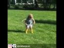 Будущая гимнастка =
