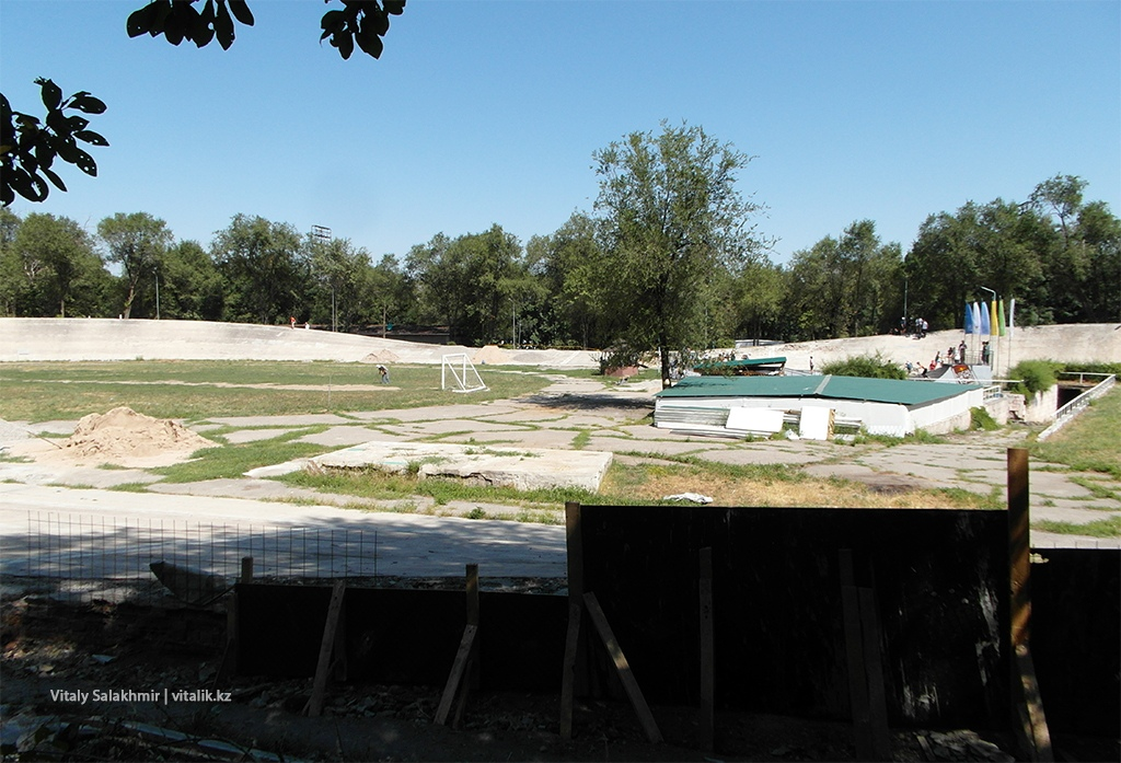 Скейт-парк в Парке Горького