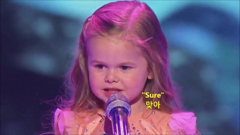 3살 아기의 인어공주 ost ㅠㅠㅠ(한글자막ver)