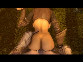 vk.com/watchgirls Rule34 Dragon Age Liliana sfm 3D porn monster