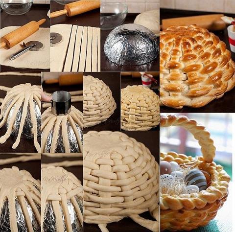Как приготовить корзинки тесто