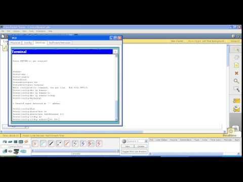 Курс Cisco, Routing and Switching. Шаг 1 Подключение к маршрутизатору, настройка IP адреса